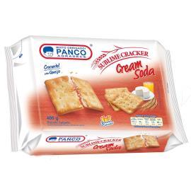 Biscoito cream soda Panco 400g