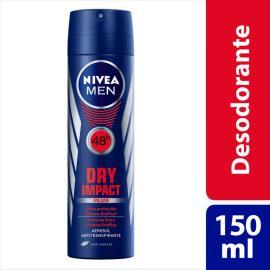 Desodorante Antitranspirante Aerossol Nivea Dry Impact 150ml
