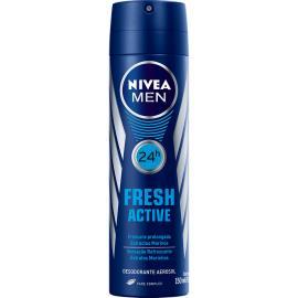 Desodorante Aerossol Nivea For Men Fresh 150ml