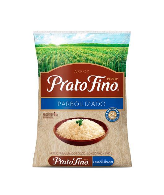 Arroz Prato Fino parboilizado  1kg - Imagem em destaque