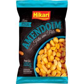 Amendoim sem pele frito Hikari 100g