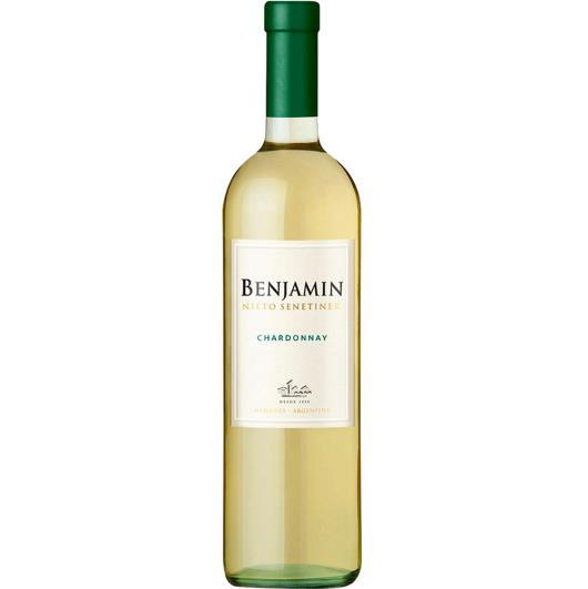 Vinho Argentino Benjamin Chardonnay 750ml - Imagem em destaque