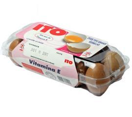 Ovo Ito vermelho grande ômega 3 vitaminas tipo especial com 10 unidades