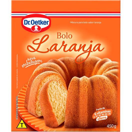 Mistura para bolo Oetker sabor laranja  450g - Imagem em destaque