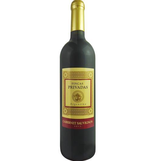 Vinho Argentino Fincas Privadas Cabernet Sauvignon 750ml - Imagem em destaque