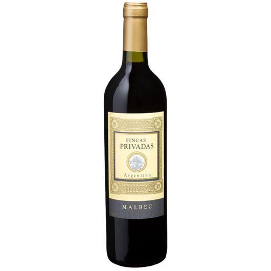 Vinho Argentino Fincas Privadas Malbec 750 ml - Imagem em destaque
