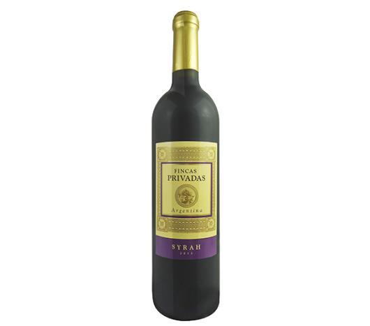 Vinho argentino Fincas Privadas Syrah 750ml - Imagem em destaque