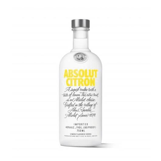 Absolut Vodka Citron Sueca - 750ml - Imagem em destaque