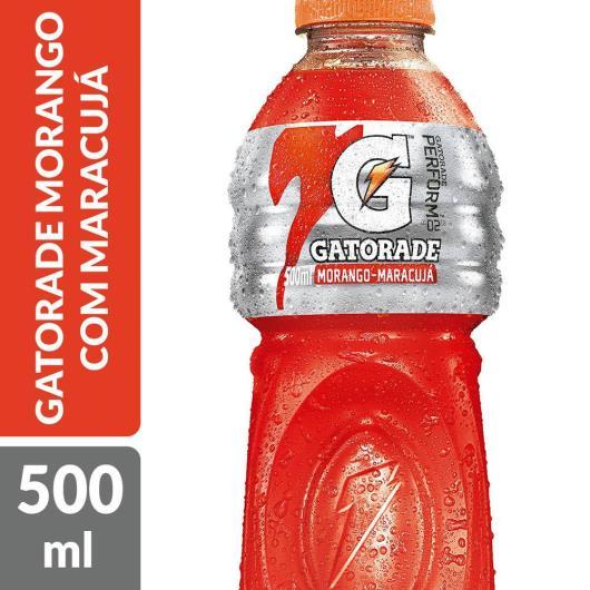 ISOTÔNICO GATORADE MORANGO COM MARACUJÁ 500 ML GARRAFA - Imagem em destaque