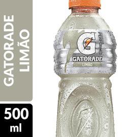 ISOTÔNICO GATORADE LIMÃO 500 ML GARRAFA