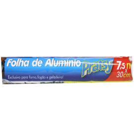 Papel alumínio Pratsylar 30x7.5m