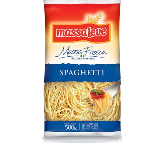 Massa spaghetti Massa Leve 500g - Imagem em destaque