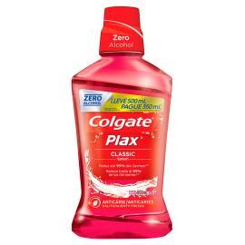 Enxaguante Bucal Colgate Plax Classic 500ml Promo Pague 350ml