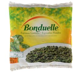 Espinafre em flocos congelado Bonduelle 400 g