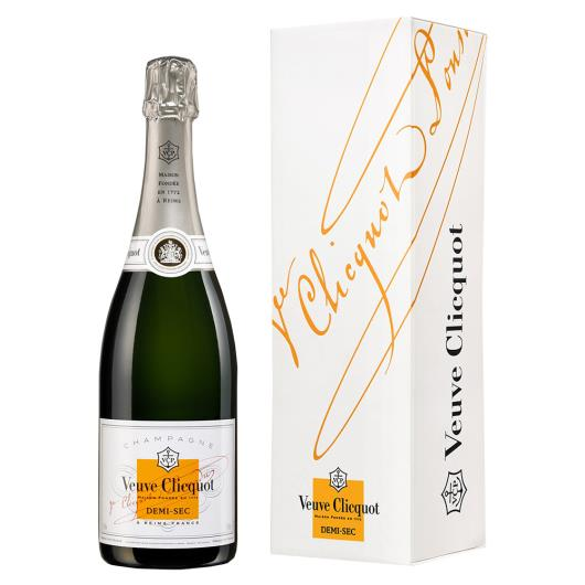 Champagne Francês Veuve Clicquot Demi-Sec 750ml - Imagem em destaque