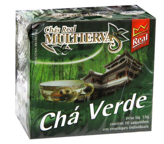 Chá Real multiervas verde 15g - Imagem em destaque