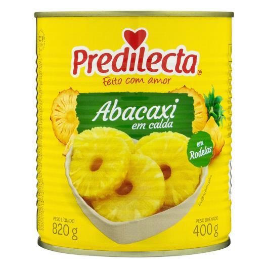 Abacaxi em Calda Rodelas Predilecta Lata 400g - Imagem em destaque