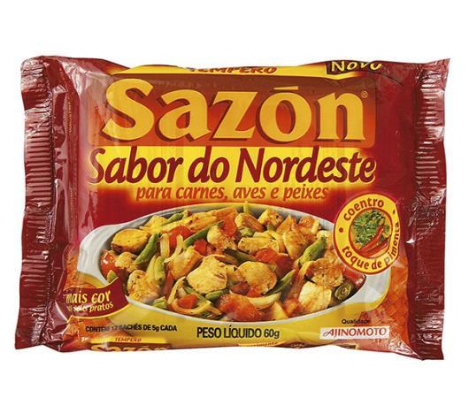 Tempero sabor do nordeste Sazón 60g - Imagem em destaque