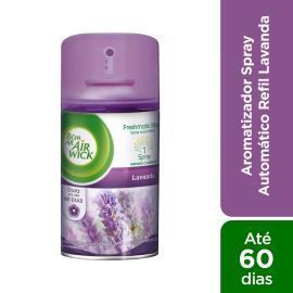 Odorizador fresh matic lavanda  Bom Ar refil 250 ml