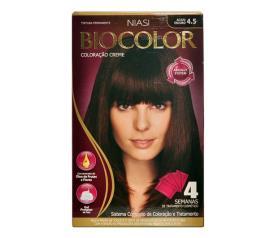 Coloração Biocolor creme 4.5 acaju escuro
