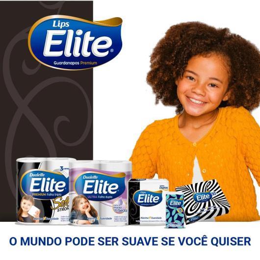 GUARDANAPO DE PAPEL FOLHA DUPLA ELITE - 50 UNIDS - 23,5 X 24 CM - Imagem em destaque