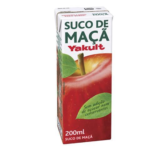 Suco de maçã Yakult natural 200ml - Imagem em destaque