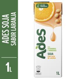 Bebida de soja AdeS Soy force laranja 1L