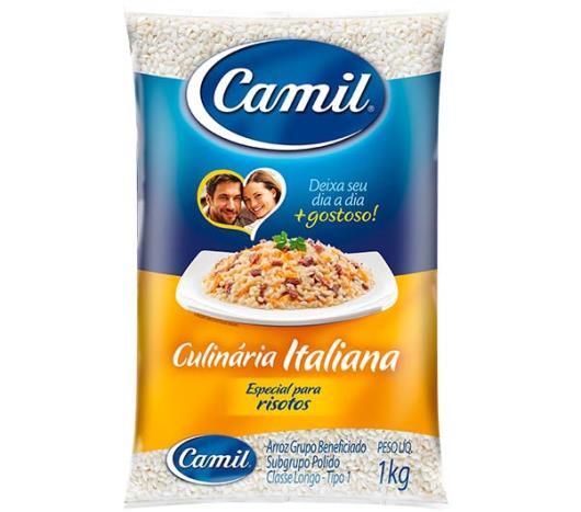 Arroz Camil culinária italiana 1kg - Imagem em destaque