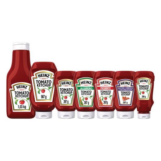 Ketchup Heinz Tradicional 397g - Imagem em destaque