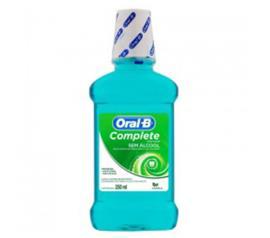 Anti-Séptico bucal Oral-B hortelã sem álcool  250ml