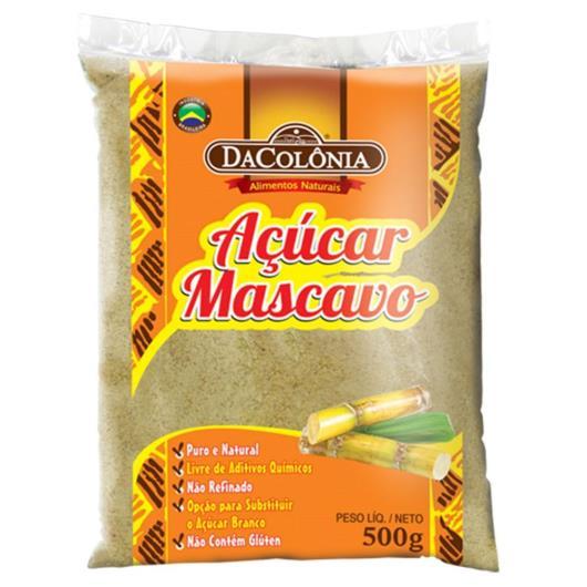 Açúcar DaColônia Mascavo 500g - Imagem em destaque