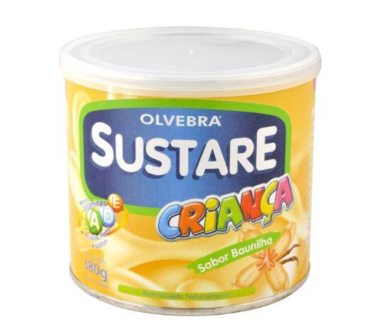 Sustare Olvebra sabor baunilha 380g - Imagem em destaque