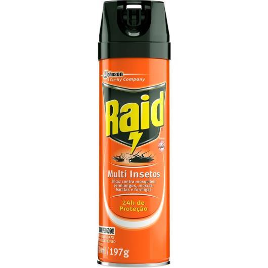 Inseticida Raid Multi-insetos Spray 300ml - Imagem em destaque