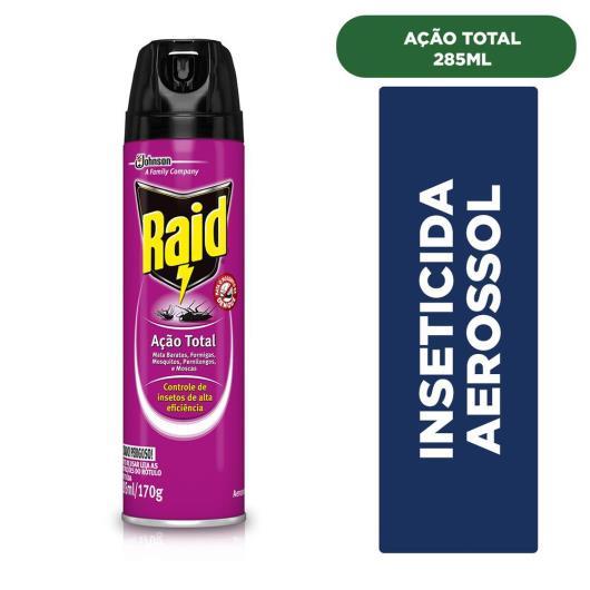 Inseticida Raid Multi-insetos Spray Ação Total 285ml - Imagem em destaque
