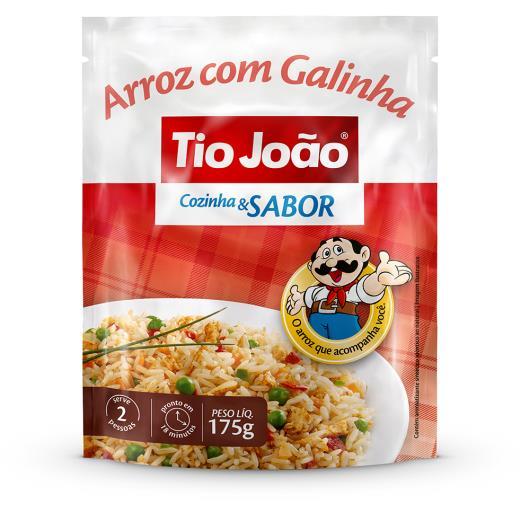 Arroz Tio João cozinha sabor galinha  175g - Imagem em destaque