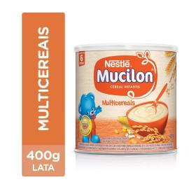 NESTLÉ Mucilon Multicereais Cereal Infantil Lata 400g