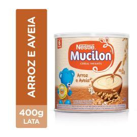 NESTLÉ Mucilon Arroz e Aveia Cereal Infantil Lata 400g