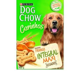 biscoito dog chow carinhos integral maxi 500g