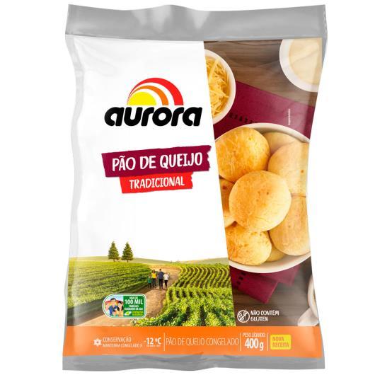 Pão de Queijo Aurora Tradicional 400g - Imagem em destaque