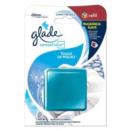 Odorizador Glade Sensations Glass Toque de Maciez refil 8g
