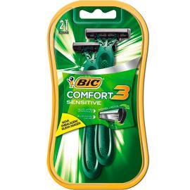 Aparelho de barbear Bic Comfort 3 Sensitive com 2 unidades