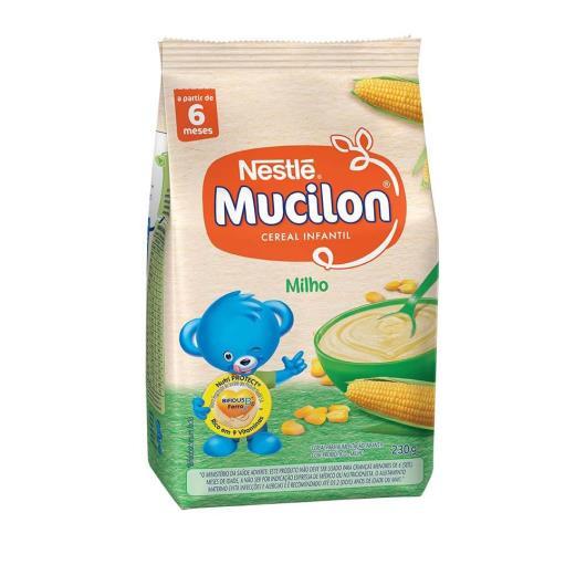 NESTLÉ Mucilon Milho Cereal Infantil Sachê 230g - Imagem em destaque