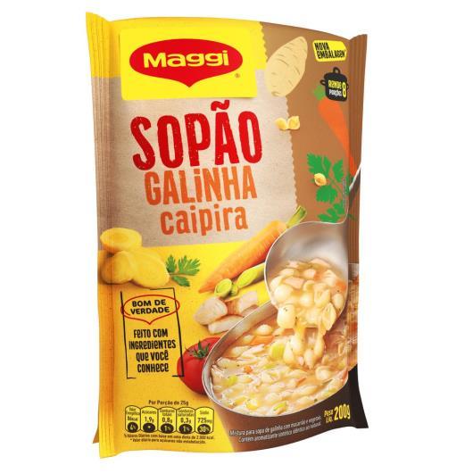 MAGGI Sopão Galinha Caipira Sachê 200g - Imagem em destaque