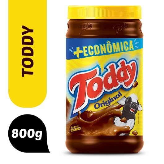 Achocolatado Em Pó Original Toddy Pote 800G + Econômica - Imagem em destaque