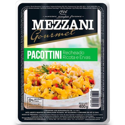 Pacottini Mezzani ricota e ervas 400g - Imagem em destaque