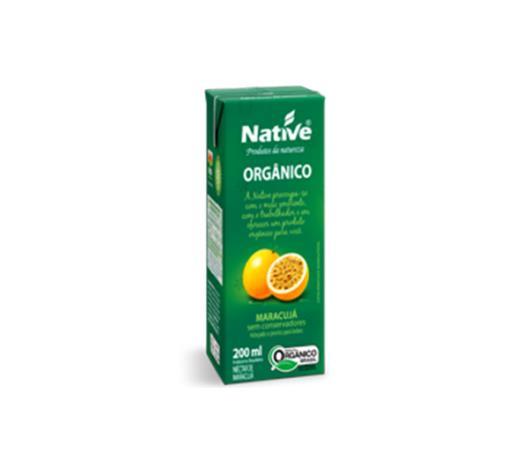 Néctar de maracujá orgânico Native 200ml - Imagem em destaque