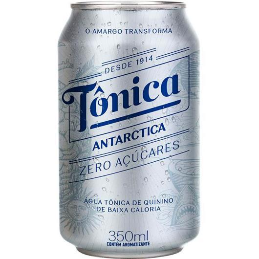 Água tônica Antarctica zero açúcares 350 ML Lata - Imagem em destaque
