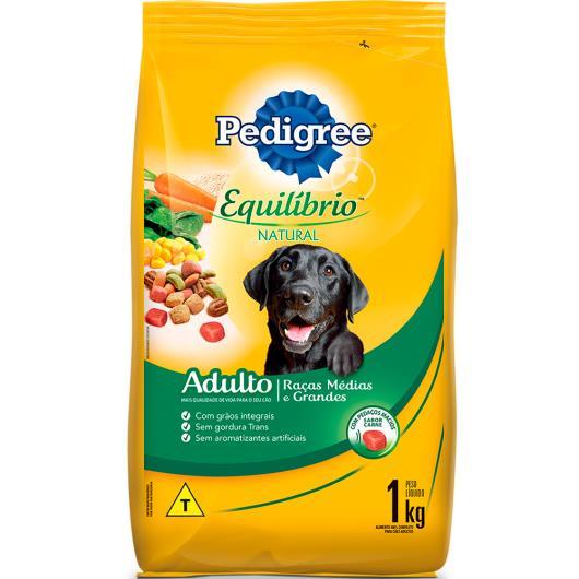 Alimento para cães Pedigree equilíbrio natural adulto 1kg - Imagem em destaque