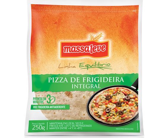 Massa para pizza frigideira integral Massa Leve 250g - Imagem em destaque