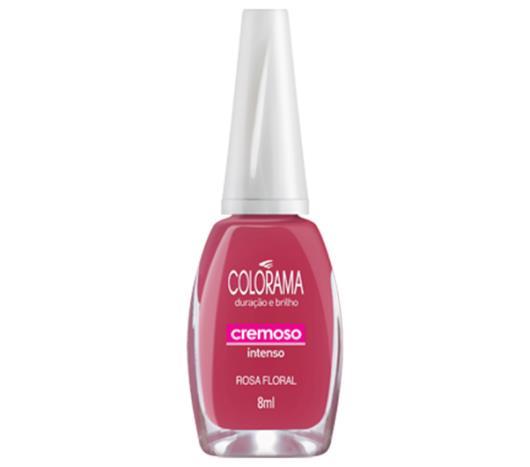 Esmalte Colorama cremoso rosa floral 8ml - Imagem em destaque